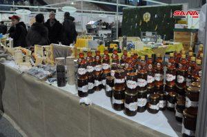 2nd Syrian Honey Festival starts activities at al-Jalaa Sport Hall, Damascus