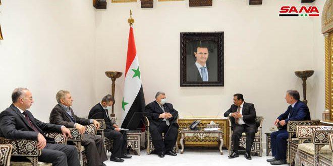 دیدار صباغ با سفیر پاکستان در دمشق