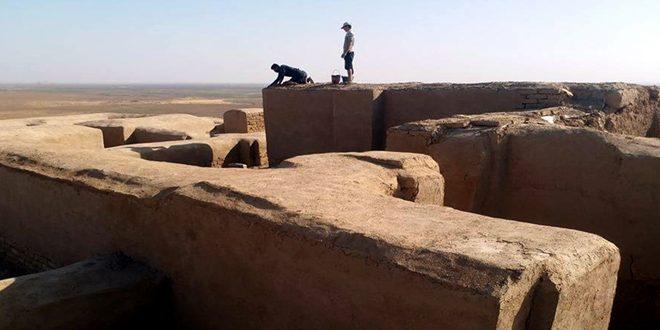 Début de la restauration d'un site archéologique remontant au 3ème millénaire avant JC