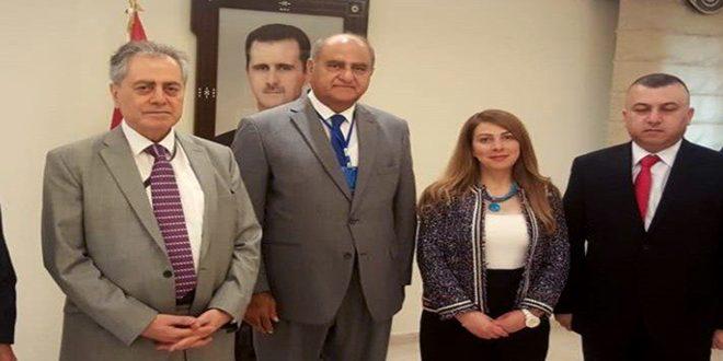الخطيب يؤكد ضرورة تفعيل العلاقات اللبنانية السورية لما فيه مصلحة البلدين