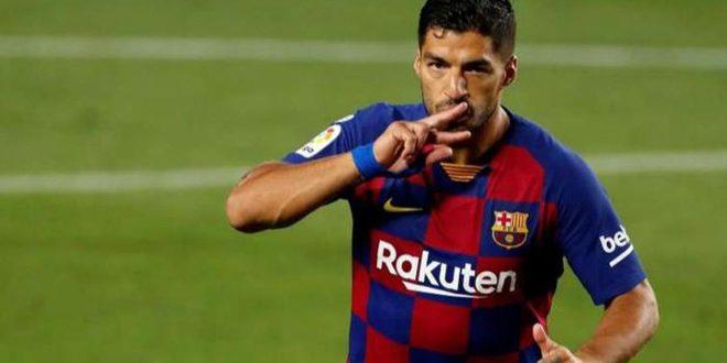 برشلونة يعلن رسمياً انتقال سواريز إلى أتلتيكو مدريد