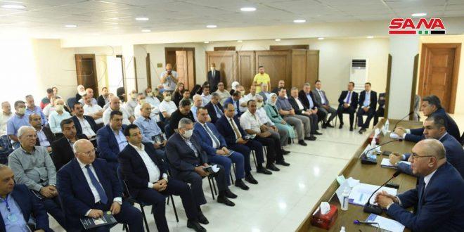 اجتماع الهيئة العامة السنوي لغرفة صناعة حلب