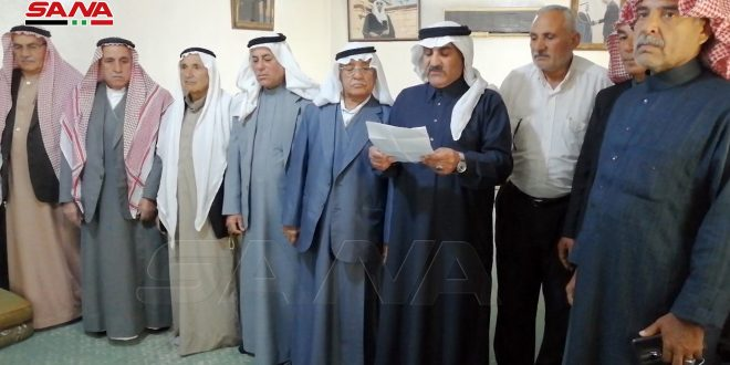 Tribes and clans of Shammar, al-Khwatneh and Dulaim call for expelling US and Turkish occupation forces