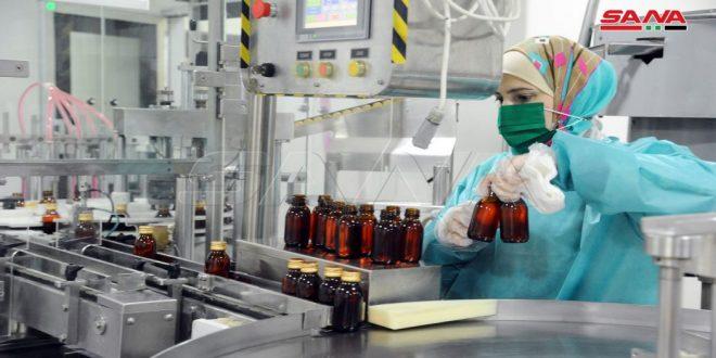 L'industrie pharmaceutique en Syrie œuvre pour surmonter les difficultés