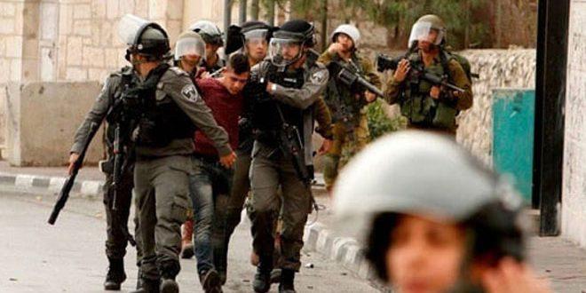 פציעת פלסטיני בכפר א-נבי סאלח