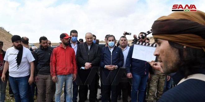 В Сирии проходят съемки телесериала о героических подвигах бойцов Сирийской Арабской армии