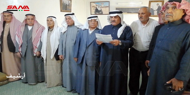 Арабские племена и кланы призвали к широкому участию в президентских выборах