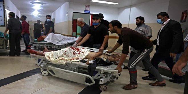 İsrail İşgalinin Filistin Halkına Yaptığı Yeni Saldırılarda Şehit Sayısı 26'e Yükseldi.. Yaralılar İse Yüzden Fazla..