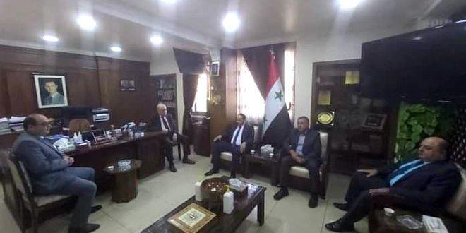 Karşılıklı Ticaret Seviyesini Yükseltmek İçin Suriye-Irak Görüşmeleri