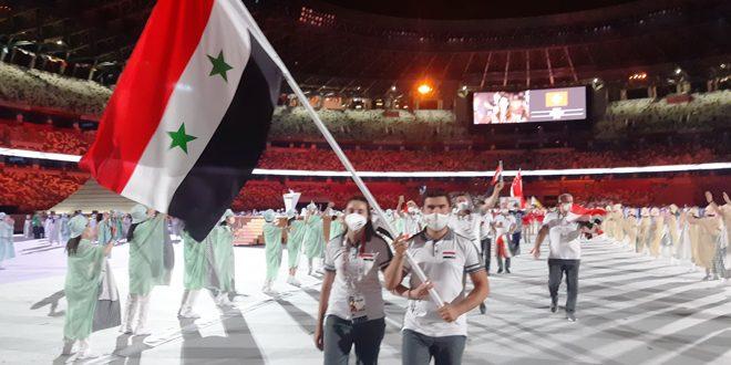 بمشاركة سورية افتتاح دورة الألعاب الأولمبية في طوكيو